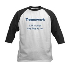Teamwork - Blue Tee