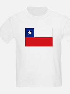 Chile Nal flag Kids T-Shirt