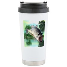 Green Bass Travel Mug