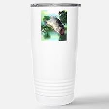 Green Bass Travel Mug