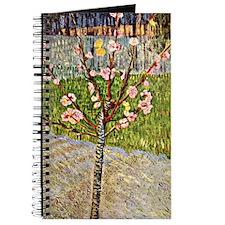 Van Gogh's Almond Tree in Blossom Journal