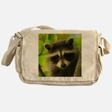 raccoon Messenger Bag