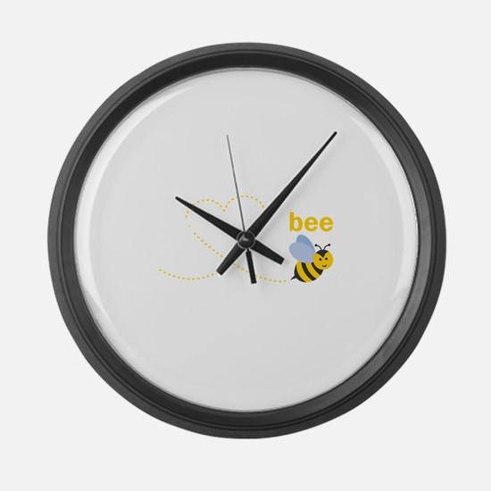 Brother To Bee Large Wall Clock