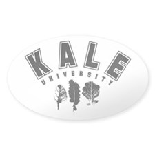 Kale University Black Decal