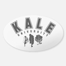 Kale University Black Decal