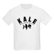 Kale University Black T-Shirt