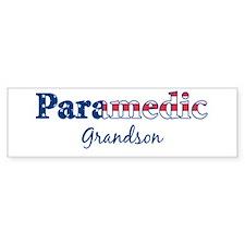 Paramedic Grandson Bumper Bumper Sticker