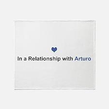Arturo Relationship Throw Blanket