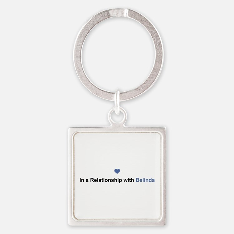 Belinda Relationship Square Keychain