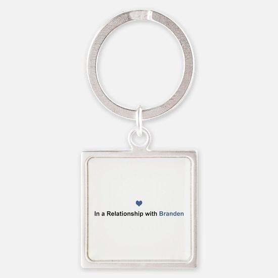 Branden Relationship Square Keychain