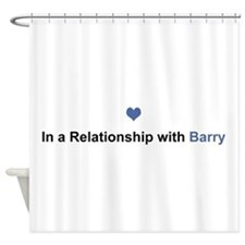 Barry Relationship Shower Curtain