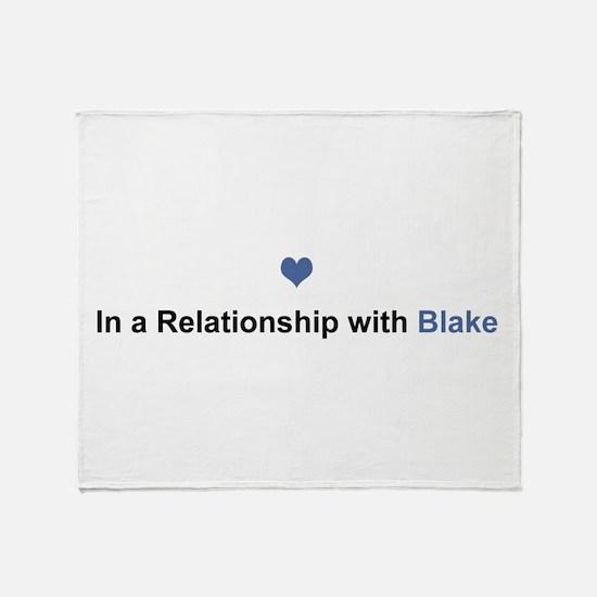 Blake Relationship Throw Blanket