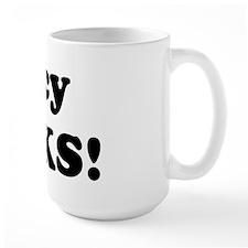 Tracy Rocks! Mug