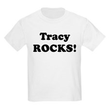 Tracy Rocks! Kids T-Shirt