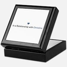 Christina Relationship Keepsake Box