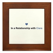 Ciara Relationship Framed Tile