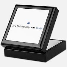 Cindy Relationship Keepsake Box