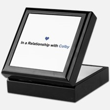 Colby Relationship Keepsake Box