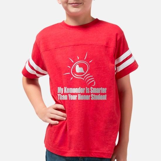 komondor copy Youth Football Shirt