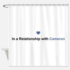 Cameron Relationship Shower Curtain