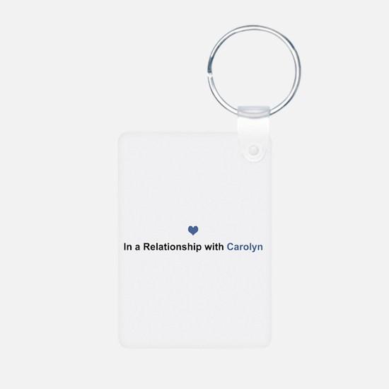 Carolyn Relationship Aluminum Keychain