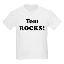 Tom Rocks! Kids T-Shirt