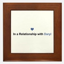 Daryl Relationship Framed Tile