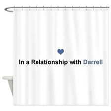 Darrell Relationship Shower Curtain