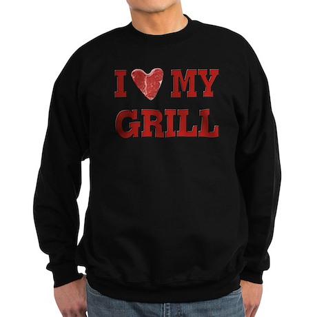 I love my Grill Sweatshirt (dark)