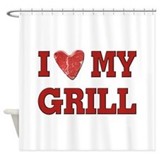 I love my Grill Shower Curtain
