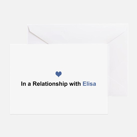 Elisa Relationship Greeting Card