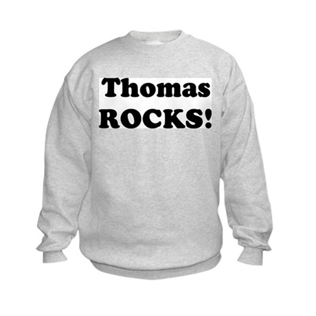 Thomas Rocks! Kids Sweatshirt