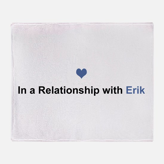 Erik Relationship Throw Blanket
