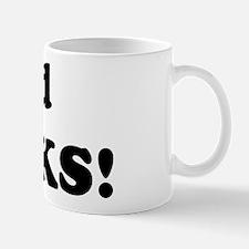 Ted Rocks! Mug