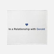 Gerald Relationship Throw Blanket