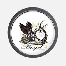 Dark Angel Wall Clock