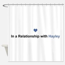 Hayley Relationship Shower Curtain