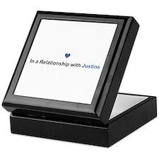 Justine Relationship Keepsake Box
