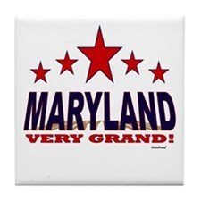 Maryland Very Grand Tile Coaster