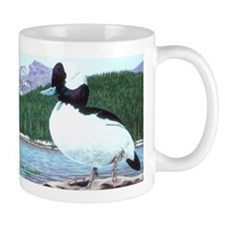 Sunning Bufflehead Duck Coffee Mug