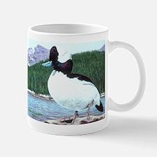 Sunning Bufflehead Duck Mug