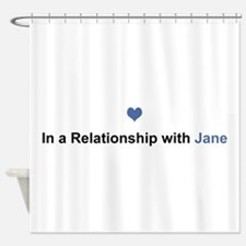 Jane Relationship Shower Curtain
