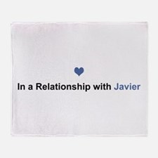Javier Relationship Throw Blanket