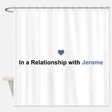 Jerome Relationship Shower Curtain
