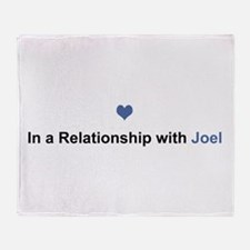 Joel Relationship Throw Blanket