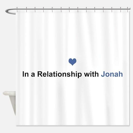 Jonah Relationship Shower Curtain