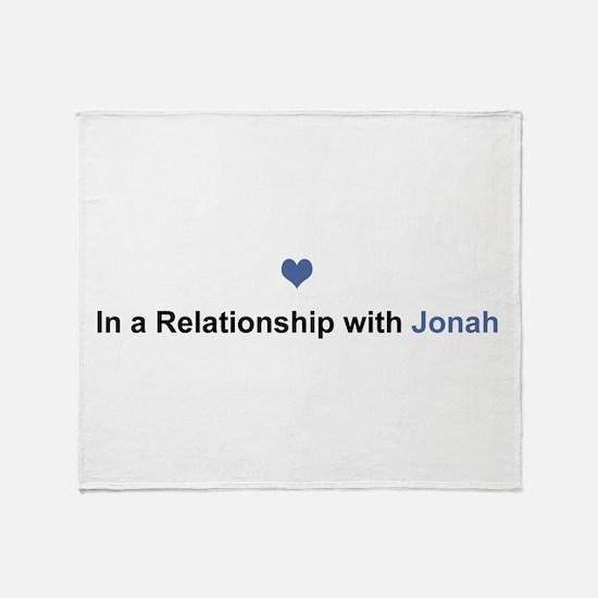 Jonah Relationship Throw Blanket