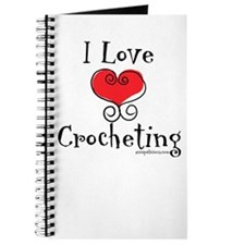 I Love (heart) Crocheting Journal