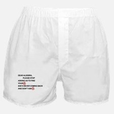 Cute Dear Algebra Boxer Shorts