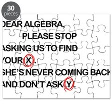Cute Dear Algebra Puzzle